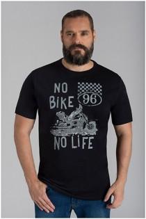 Extra lange t-shirt van Kitaro
