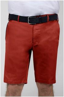Elastische katoenen korte broek van Plusman