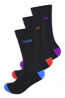 3 paar sokken van D555