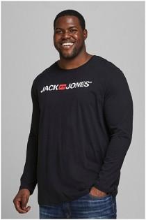 Lange mouw t-shirt van Jack & Jones.
