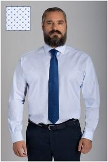 Bedrukt dressoverhemd van Plusman