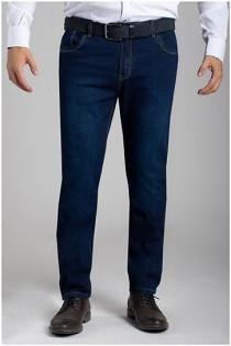 Elastische 5-Pocket Jeans van Plusman