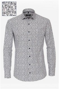 Allover print lange mouw hemd van Casamoda.