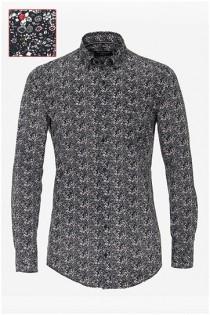Allover print lange mouw overhemd van Casamoda.