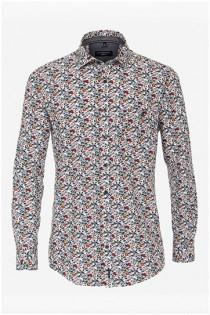 Allover bedrukt overhemd van Casamoda.