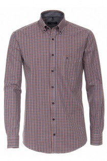 Extra lang casual overhemd van Casamoda.