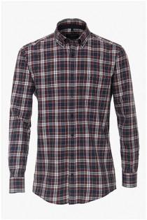 Duurzaam geproduceerd Casamoda overhemd met lange mouwen