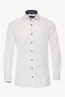 Uni strijkvrij businessoverhemd van Casamoda