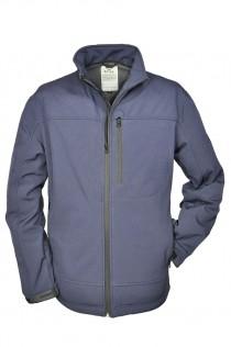 Extra lange outdoor softshell jas van Brigg (water- en winddicht)
