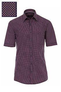 Korte mouw bedrukt overhemd van Casamoda