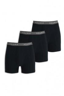 3-pack elastische boxershorts van Adamo