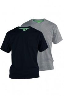 2-Pack basis t-shirts van D555