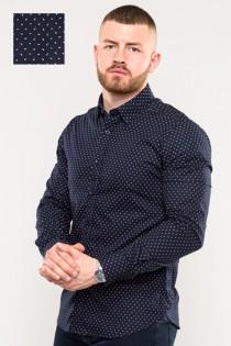 Extra lang overhemd van D555