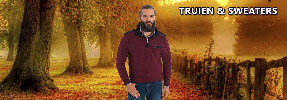Grote maten truien en sweaters