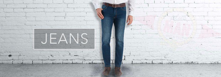 Grote maten jeansbroeken heren