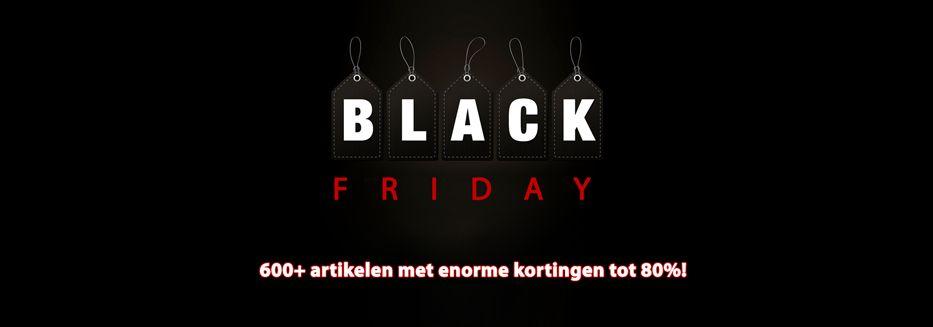 Black Friday aanbiedingen