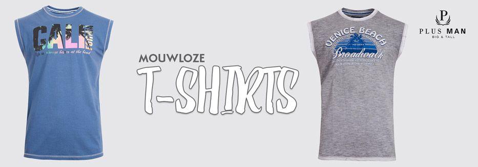 klassieke schoenen nu kopen klassieke pasvorm Mouwloze t-shirts