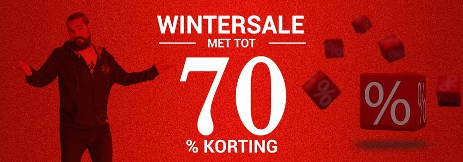 Wintersale bij Plusman.nl ; heel veel korting op grote maten herenkleding