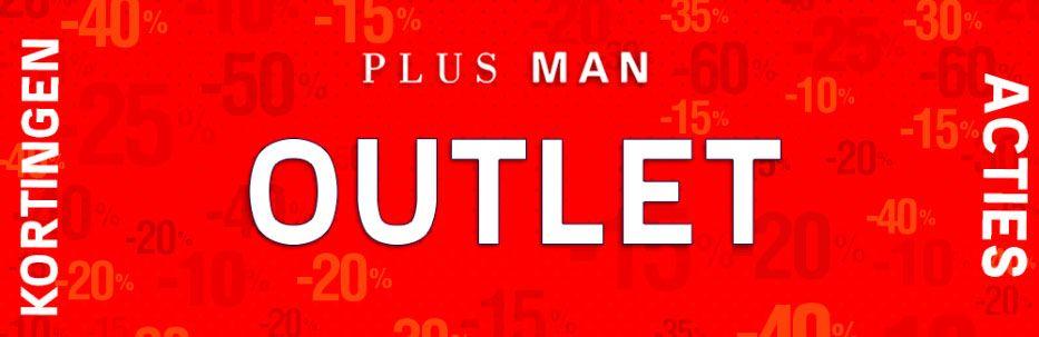 Plusman Outlet - grote maten kleding met korting