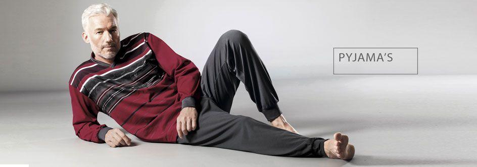 Grote maten heren pyjama