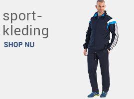 Grote maten herenkleding sportkleding