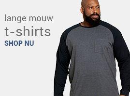 Grote maten t-shirts heren