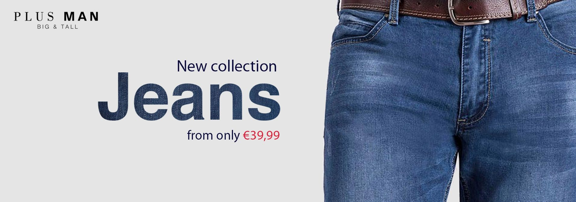 New collection jeanswear in big sizes