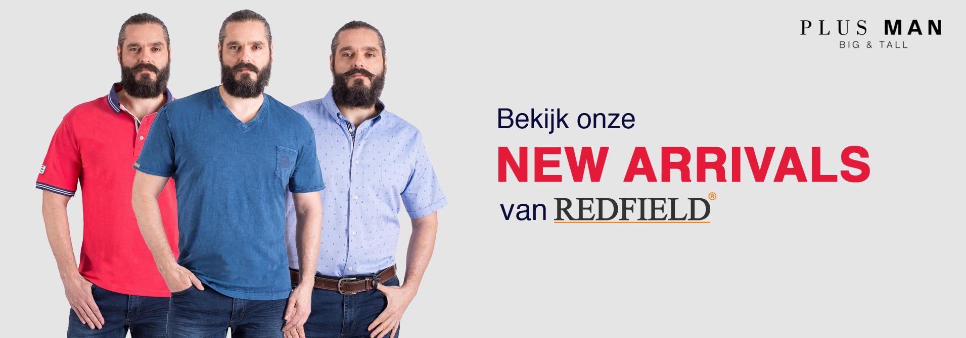 Nieuwe collectie grote maten Redfield