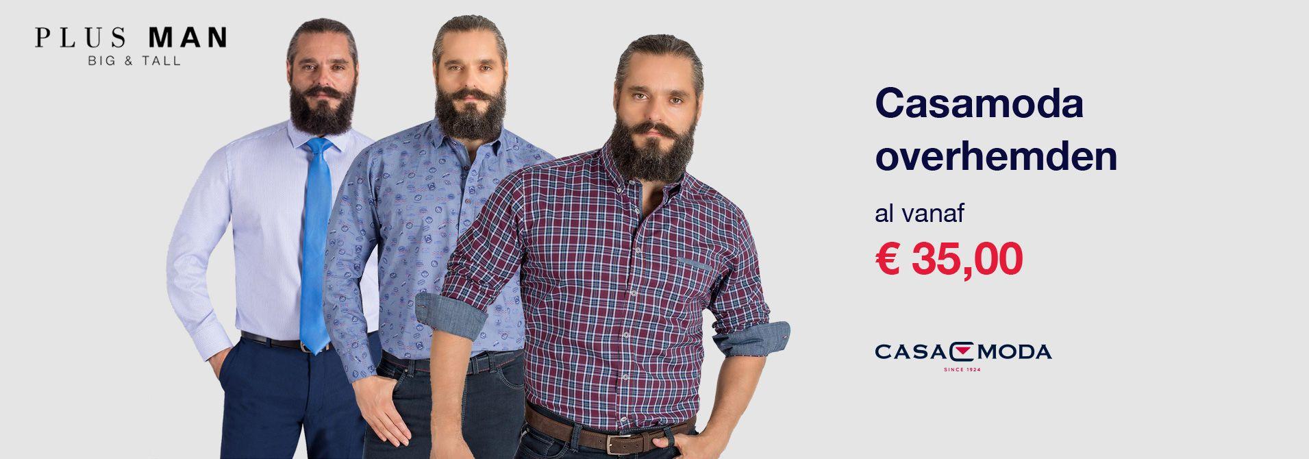 Casamoda grote maten kleding