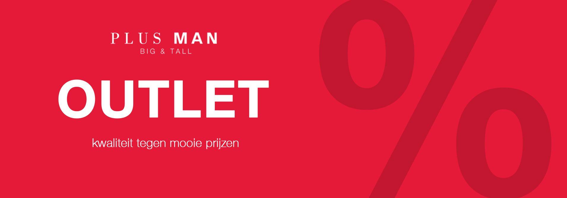 Plusman Outlet - grote maten herenkleding voor kleine prijzen