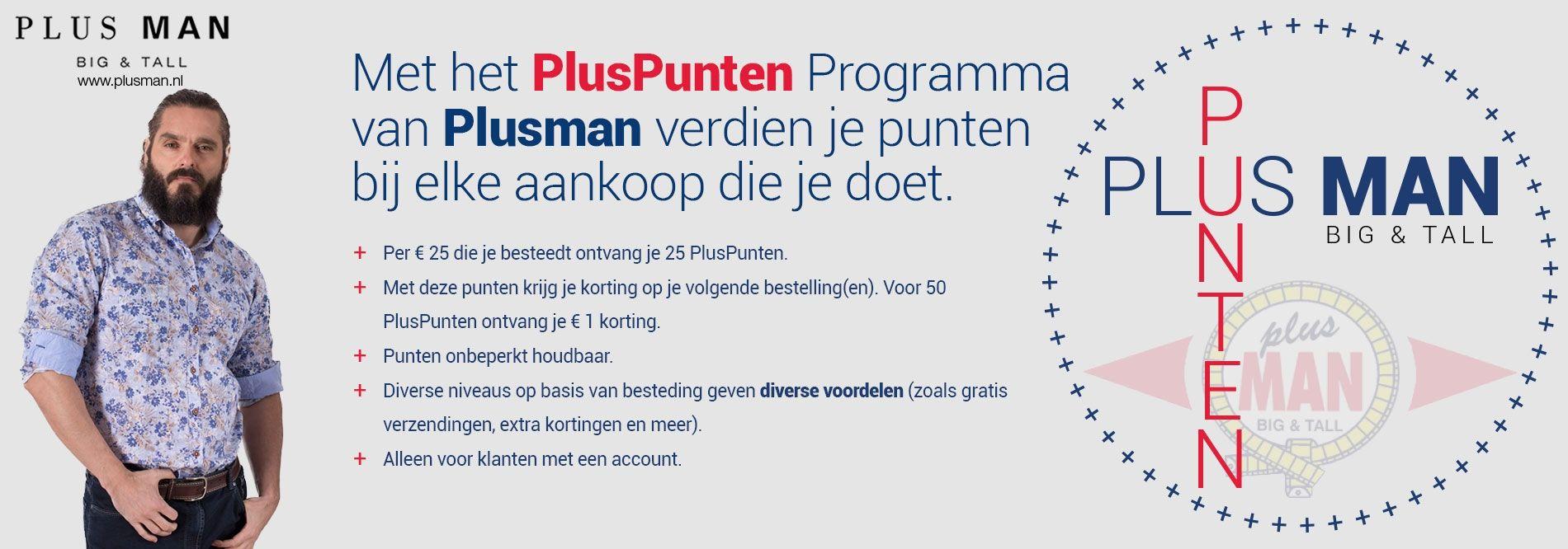 Het loyaliteitsprogramma van Plusman - PlusPunten