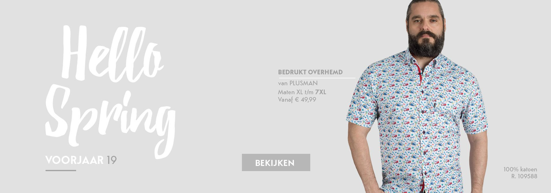 285f680271b31b Grote maten overhemd