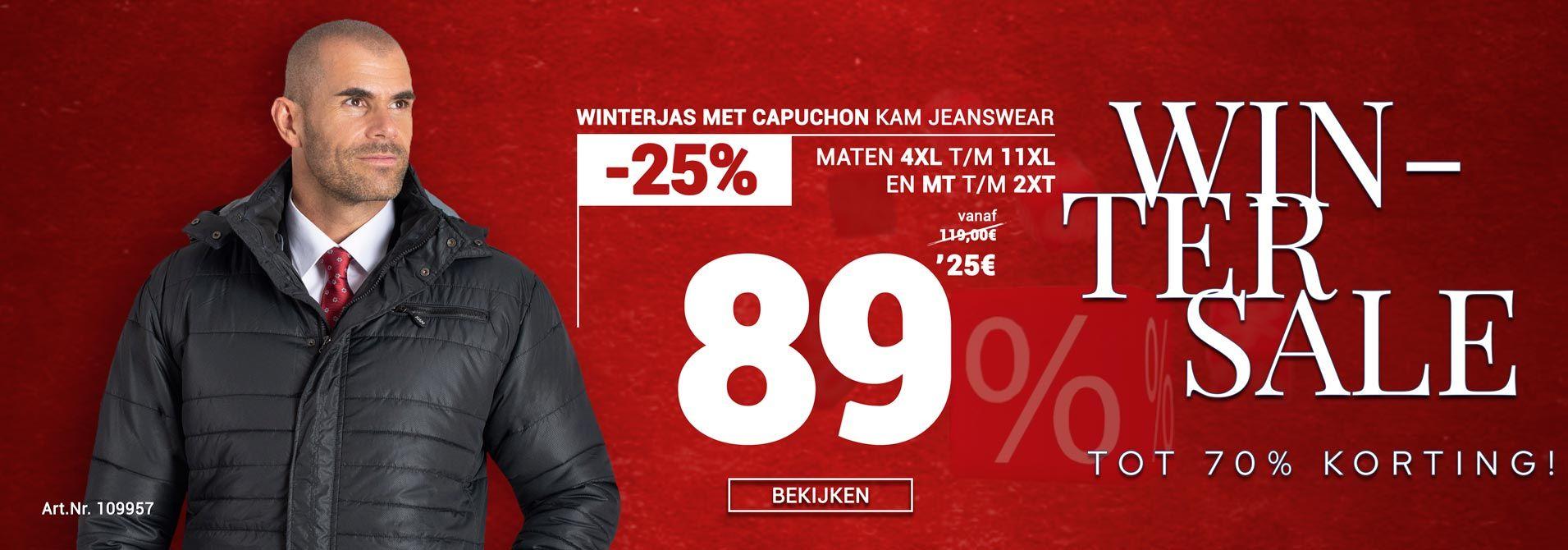 KAM jeanswear Winterjas