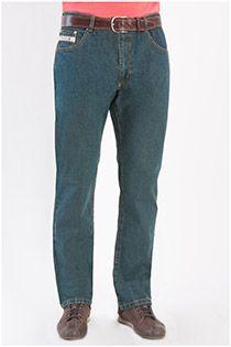 Grote maten stretch-jeans van Plus Man