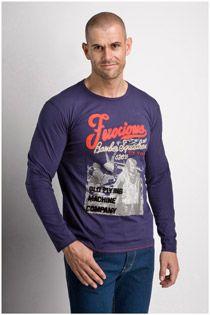 Lange mouw t-shirt 106726