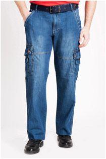Jeans broek 106834