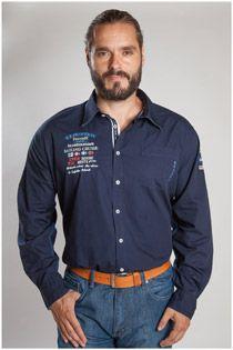 Effen Overhemd 107232